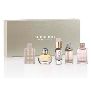 Burberry 5 Piece Miniature Set Variety For Women 5ml Each