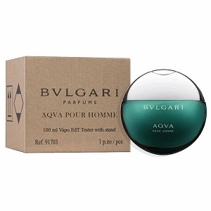 Bvlgari Aqua Pour Homme Edt 100ml Tester For Men