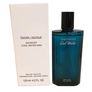 Davidoff Cool Water Edt 125ml For Men Tester