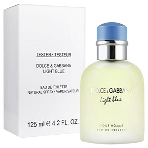 Dolce & Gabbana Light Blue Edt 125ml Tester For Men