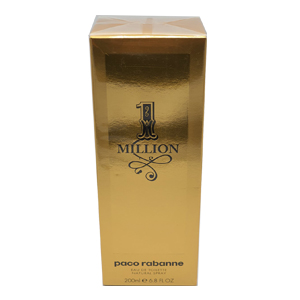 Paco Rabanne 1 Million Edt 200ml 6.8oz