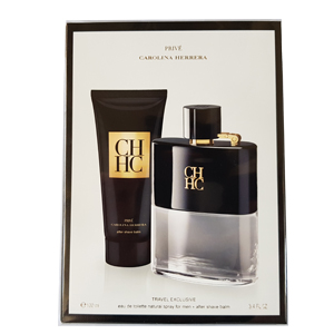 Carolina Herrera CH Prive Set Edt 100ml + Afterhave Balm 100ml For Men