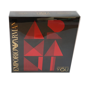 Emporio Armani Stronger With You Set For Men Edt 50ml + 2 x 75ml All Over Body Shampoo