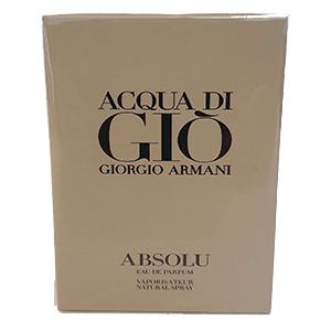 Giorgio Armani Acqua Di Gio Absolu Edp 75ml  Men