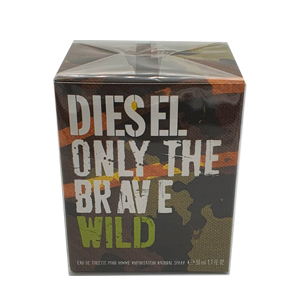 Diesel Only The Brave Wild Edt Spray 50ml For Men