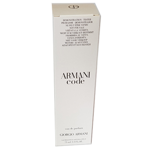 Giorgio Armani Code For Women Edp 75ml Tester